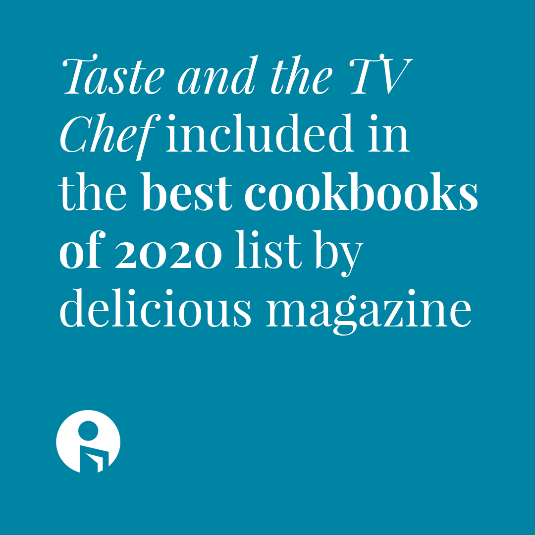 Taste and the TV Chef has been included in the best cookbooks of 2020 list by delicious magazine!
